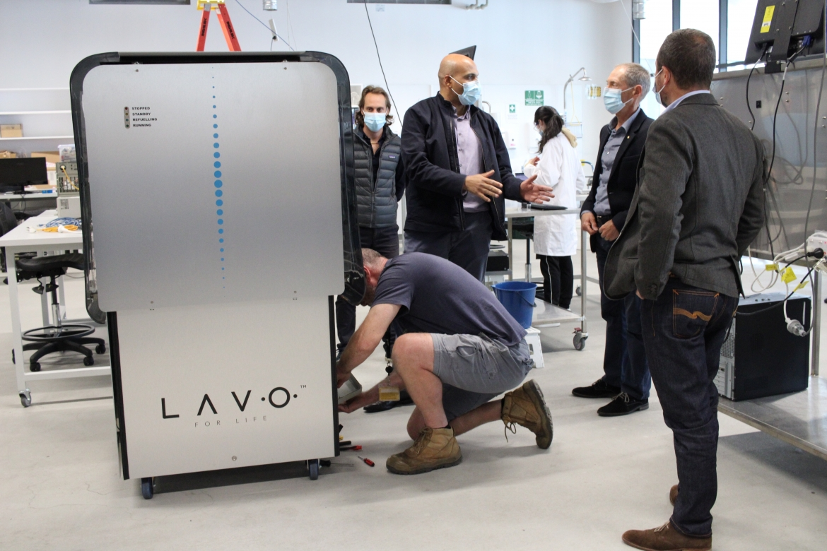 Presenting the LAVO R&D Prototype